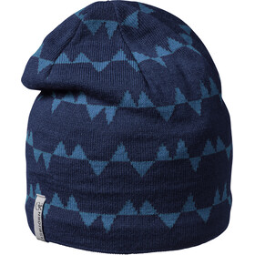 Isbjörn Hawk Knitted Cap Kids denim